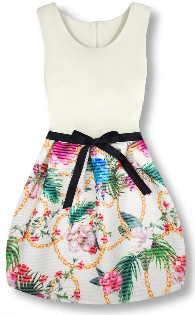 Elegantné dámske šaty 2634 biele - Šaty - MODOVO b07599cd71d