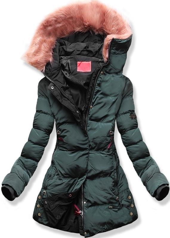 Dámská zimní bunda s kapucí M-7 khaki - Bundy - MODOVO f87ab048bc6