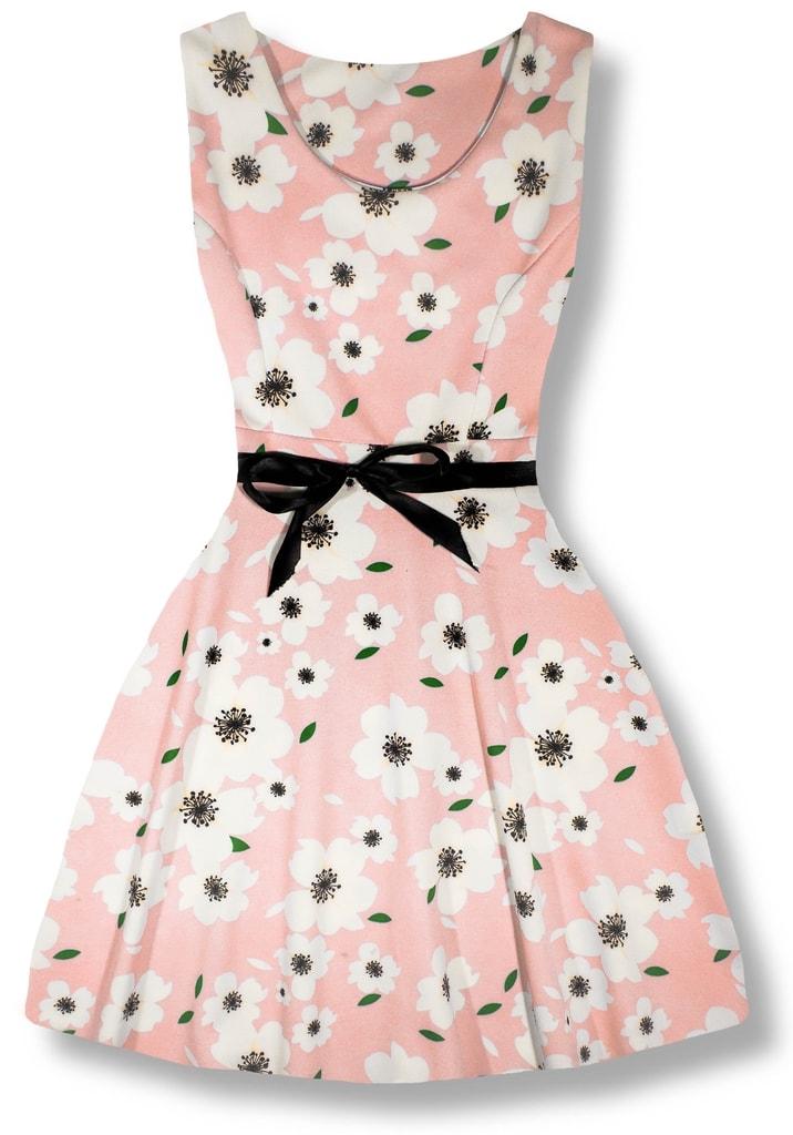 Elegáns női ruha 2638 rózsaszín - Ruhák - MODOVO d06e67cfda