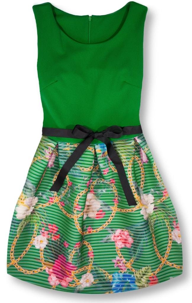 Elegantné dámske šaty 2634 zelené - Šaty - MODOVO a1894c4b477