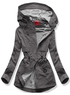 Bunda QL-243 grafitová Bunda QL-243 grafitová Dámska prechodná bunda s  kapucňou QL… Dámska prechodná bunda s kapucňou… Dámska prechodná bunda s  kapucňou ... ff353024c85