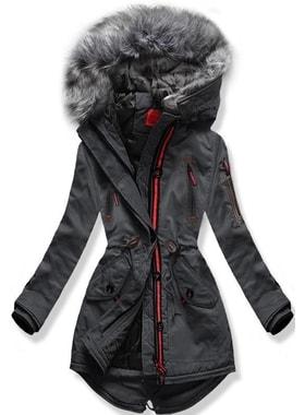 Kabát PO-301 grafitszürke Kabát PO-301 grafitszürke Női téli kabát  kapucnival PO-301… Női téli kabát kapucnival PO-301… Női téli kabát  kapucnival PO-301 ... 12e2d5daa5