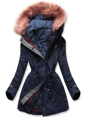Bunda PO-730 tmavo modrá Bunda PO-730 tmavo modrá Dámska zimná bunda s  kapucňou PO-730… Dámska zimná bunda s kapucňou PO… Dámska zimná bunda s  kapucňou ... 3dd9f88cbbe