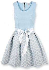MODOVO Elegantní dámské šaty 3054O modré - XL
