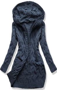 MODOVO Dámský svetr SWDWK01 tmavě modrý