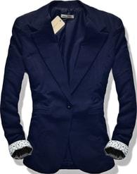 MODOVO Dámské sako 6097 tmavě modré - XL