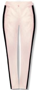 MODOVO Dámské kalhoty 7684 pudrově-černé - M